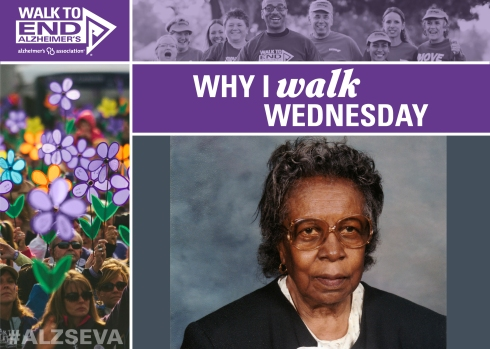 Why I Walk Wednesday with Shirley Young