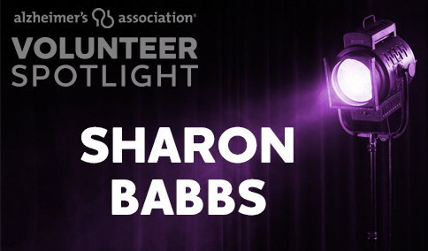 VolunteerSpotlight - Sharon Babbs