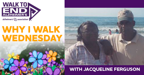 Why I Walk Wednesday WITH Jacqueline Ferguson