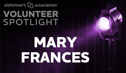 VolunteerSpotlight - Mary Frances