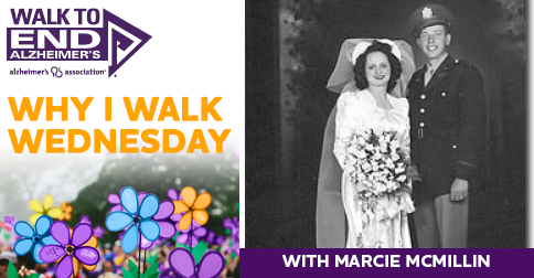 Why I Walk Wednesday- Marcie McMillin