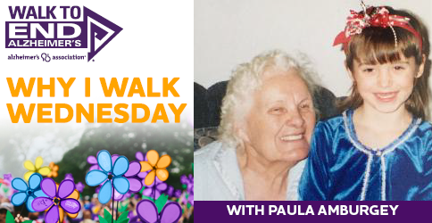 Why I Walk Wednesday- Paula