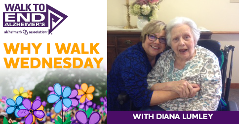 Why I Walk Wednesday- Diana Lumley