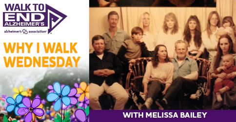 Why I Walk Wednesday- Melissa Bailey