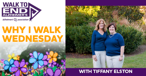 Why I Walk Wednesday- Tiffany Elston