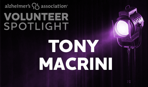 VolunteerSpotlight - TONY MACRINI