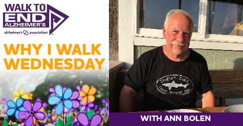 Why I Walk Wednesday- Ann bolen
