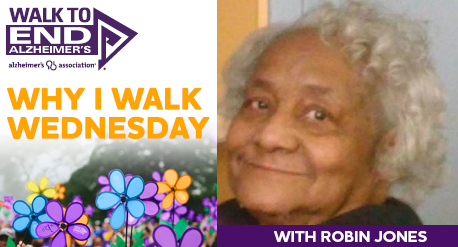 Why I Walk Wednesday- Robin Jones